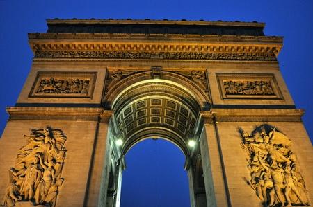 Paris - France Arc de Triomphe