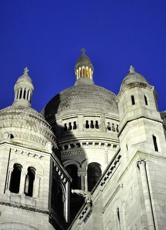 Paris - France Basilique Du Sacre Coeur  Close up