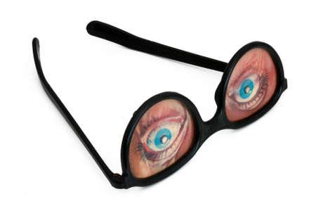 Funny eyeglasses Stock Photo - 11965097