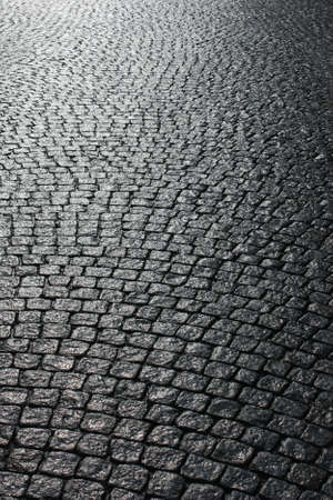 Paved street  Stock Photo