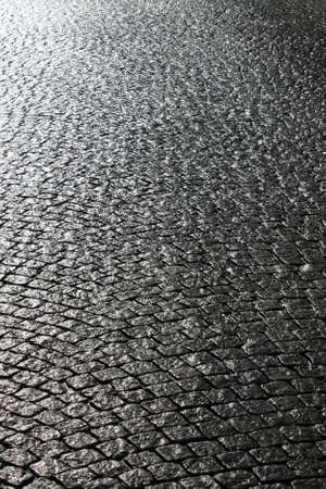 Paved street  photo