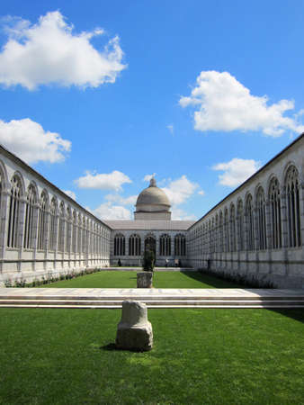 monumental cemetery: Pisa, monumental cemetery Stock Photo