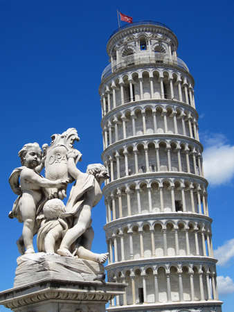 Pisa tower  Toscany                           photo
