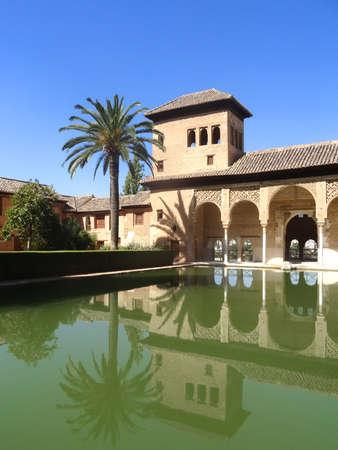 granada: Alhambra palace in Granada - Andalusia - Spain Editorial