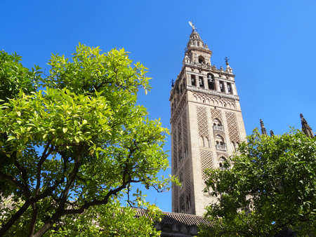 La Giralda - Seville cathedral - Spain