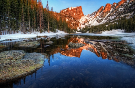 dream lake: Dream Lake Sunrise
