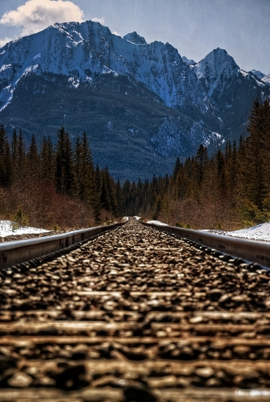 canadian pacific: Canadian Pacific Railway Tracks