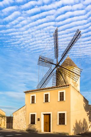 Windmill in Llubi (Mallorca)