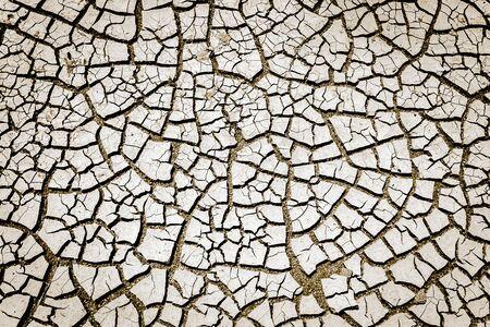 Erosion Or Global Warming Effect Archivio Fotografico