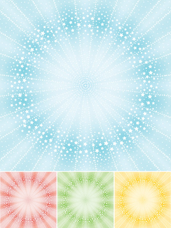 radiate: Radiate beam background with stars