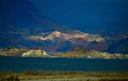 mead: Lake Mead after the storm