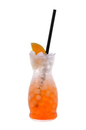 cocktail on isolated background