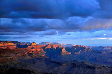 grand canyon: Painted Desert Sunrise