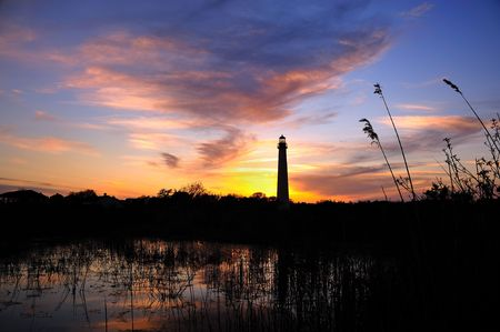 Cape May Lighthouse at Sunset