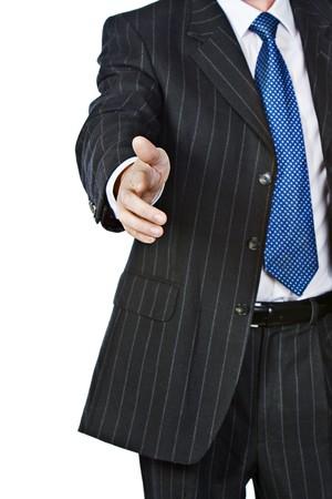 Business Man HANDSHAKE photo