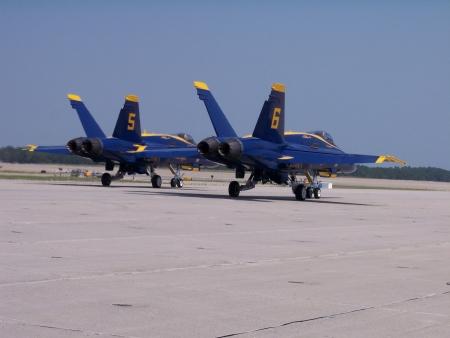 Blue Angels aerial demonstration team