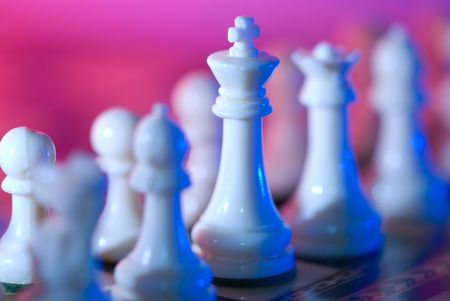 expertise: Everything in our life is like a chess game and leadering with sucess is ourmain goal. Stock Photo
