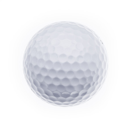 golfball: A golfball on a white background