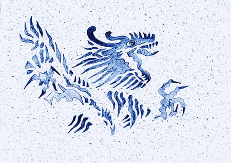 Dragon, Illustration Çizim
