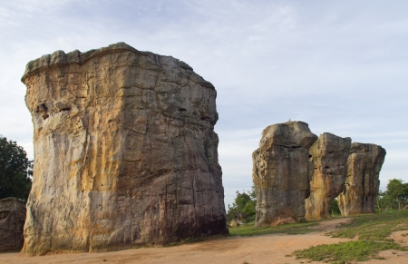 Giant monolithic in nature