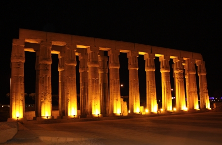 Luxor temple  Stock Photo - 16896751