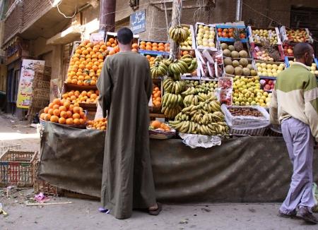 Fruit shop in the street