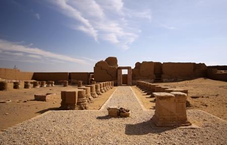 Alexander temple near Dachla oasis