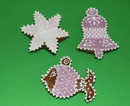 Christmas gingerbread various type photo