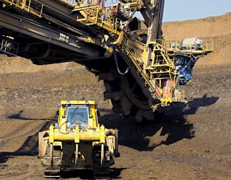 Excavator and doser