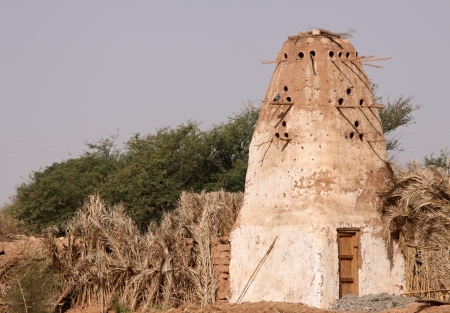 Dovecot in  Dachla oasis Stock Photo