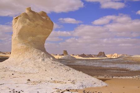 Chalk formation in White Desert, Farafra, Egypt