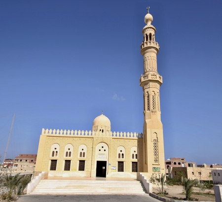 New Mosque in Al Queseer town,Egypt