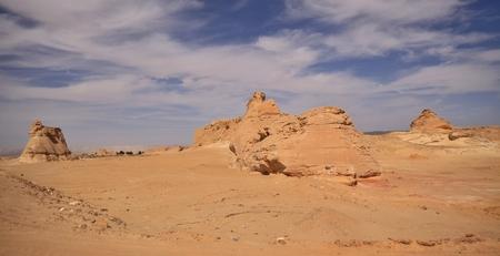 Sand dunes in Lybya desert