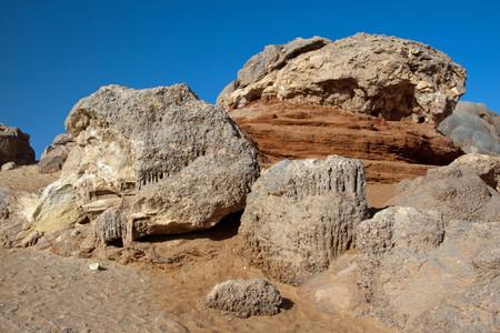 Crystal mountain, the crystal hills near Farafra oasis ,Egypt