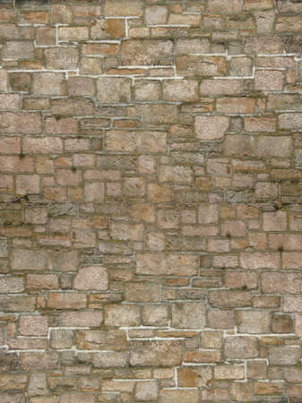repeatable: A gray brick wall background perfect for webpages or scrapbooks. Stock Photo