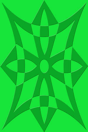 A green quilted background, perfect for webpages or scrapbooking. Banco de Imagens