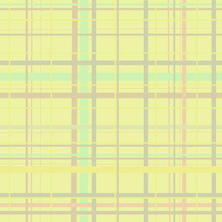 A yellow plaid pastel background
