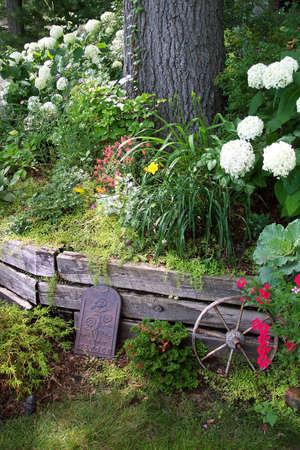 conservatory: A lovely garden Stock Photo