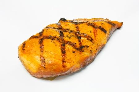 thighs: pollo ahumado II Foto de archivo