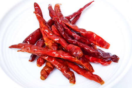 fried red chili photo