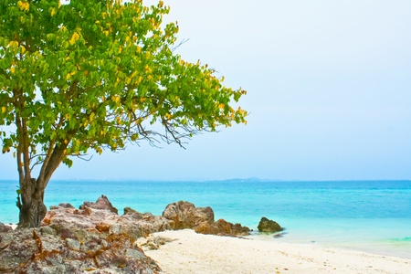 Calm Blue Ocean in Koh Samet Thailand
