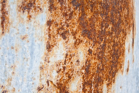 spectroscopy: Rusting tank is corrosion of iron and its alloys