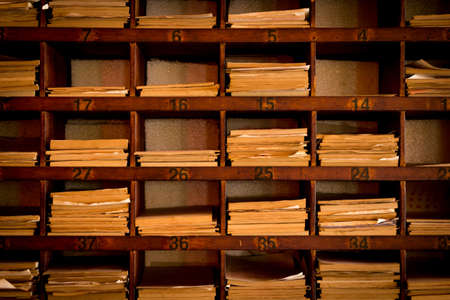 future buddha: Wooden box for the prediction of fortune