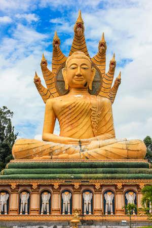Buddha statue in bangreag tample at Suratani, Thailand photo