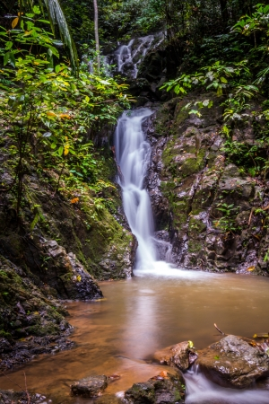 Beautiful cascading waterfall in thailand Stock Photo - 13927099