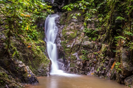 cascading: Beautiful cascading waterfall in thailand