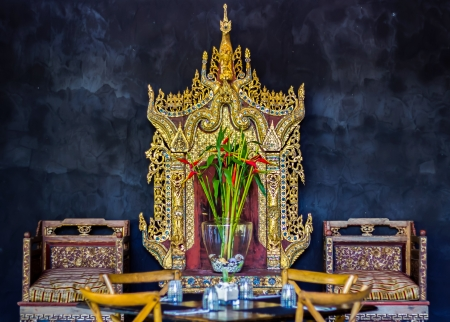 glorify: Chairs and tables designed by Cambodian art