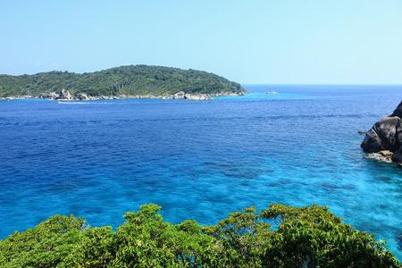 Tachai Island, south of Thailand