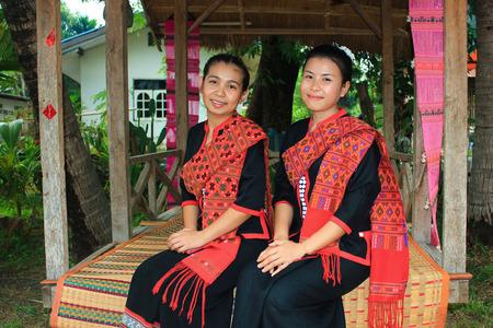 northeast: Girls in Phu Thai  Suite, Thailand