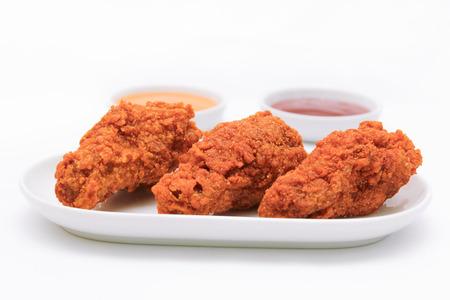 deep fried: Deep fried chicken